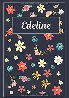 Edeline: Journal   Agenda   Carnet de Notes   120 pages   A4   Blanc   Idée Cadeau