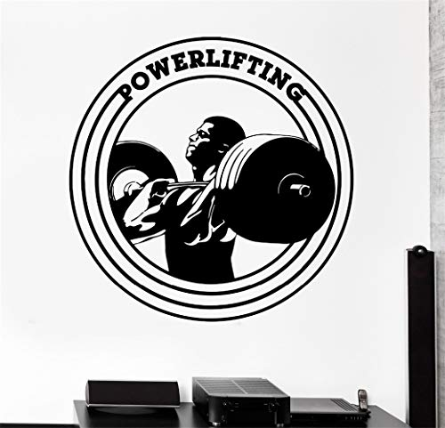 Stickers Muraux Haute Qualité Sports Powerlifing Bodybuilding Home Salon Décor