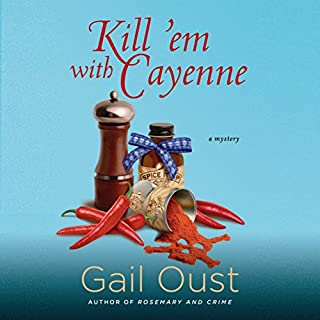 Kill 'Em with Cayenne audiobook cover art