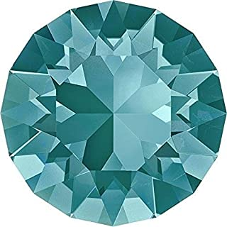 1028 & 1088 Swarovski Chatons & Round Stones Blue Zircon | SS39 (8.3mm) - Pack of 10 | Small & Wholesale Packs