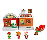 Fisher-Price Little People A Visit from Santa Playset