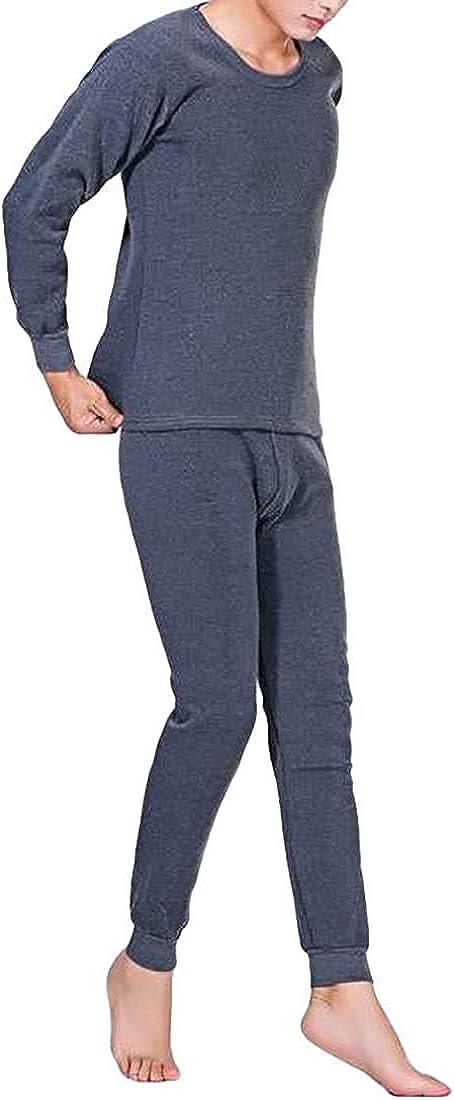 Men Thermal Underwear Long Johns Set Top & Bottom Set
