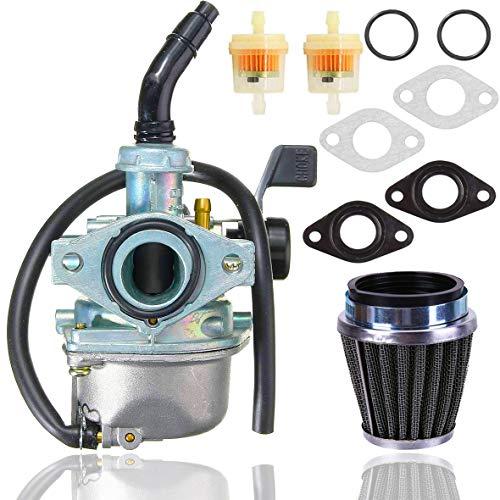 PZ19 Carburetor+ 35mm Air Filter for Taotao 50cc 70cc 90cc 110cc 125cc Dirt Bike ATV Scooter Moped,ATV Dirt Pit Bike Taotao Honda CRF