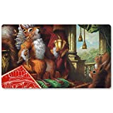 Earl of Squirrel - Board Game MTG Playmat Table Mat Games Size 60X35 cm Mousepad Play Mat for Yugioh Magic The Gathering