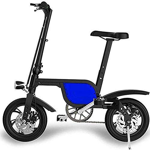 Art Jian Folding Electric Bike, Lithium-Ionen-Batterie Fahrrad Ebike Doppelstoßdämpfung Pendeln elektrisches Fahrrad