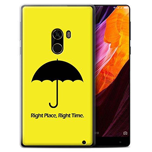 Var voor populaire apparaten grappige komedie Sitcom TV Xiaomi Mi Mix 2 Paraplu/Citaat