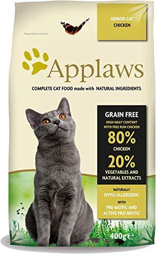 Applaws Katze Trockenfutter Senior, 1er Pack (1 x 400 g)