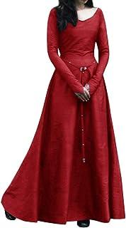 Modaworld Vestiti da Donna Medievale Costume Cosplay Principessa Fantasia Abito Rinascimentale retrò Gotico Fancy Cosplay ...