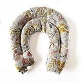 decolores | borsa termica per il collo. guanciale cervicale caldo e freddo. con fiori di lavanda