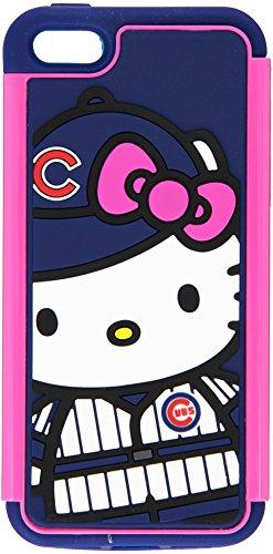 FOCO MLB Chicago Cubs Hello Kitty Dual Hybrid AI5 Cover (2-Piece), Blue