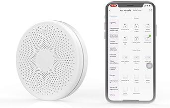 Smart WiFi Rook en Koolmonoxide Samengestelde Detector Alarm, Home Fire Alarms Rookmelder, Rookmelder Sensor, Voice Alert ...