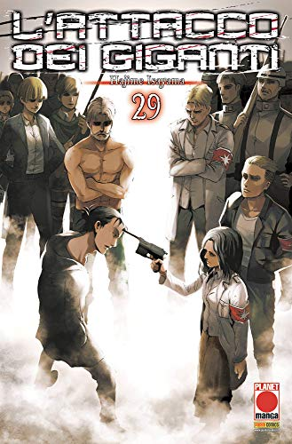 #MYCOMICS L'Attacco dei Giganti N° 29 - Planet Manga – Panini Comics – Italiano