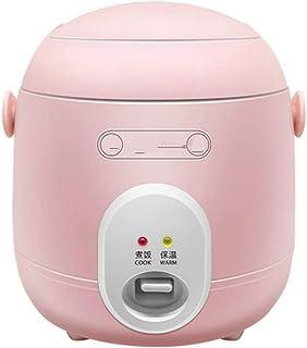 Cocina eléctrica multifuncional Mini olla arrocera Calefacción eléctrica Lonchera Estofado Sopa Fideos Máquina de cocinar Huevos Vapor Alimentos Lonchera Cake Maker 1.2l