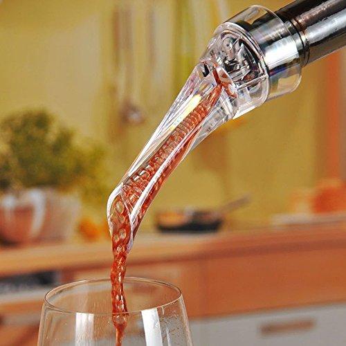 デキャンティングワインエアレーターエアーブレンド&真空式ボトルキャップBeingON
