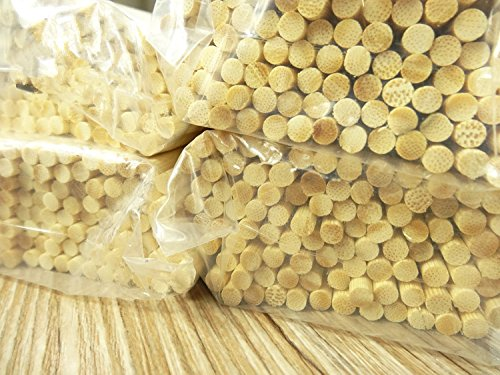 Bamboo Skewers 36 inch S'mores Roasting Sticks 5mm Thick Extra Long Heavy Duty Wooden Skewers, 100 Pieces. Super for Hot Dog German Sausage Brats, Eco and Environmentally Safe 100% Disposable