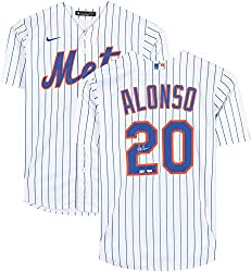 Autographed Pete Alonso Jersey