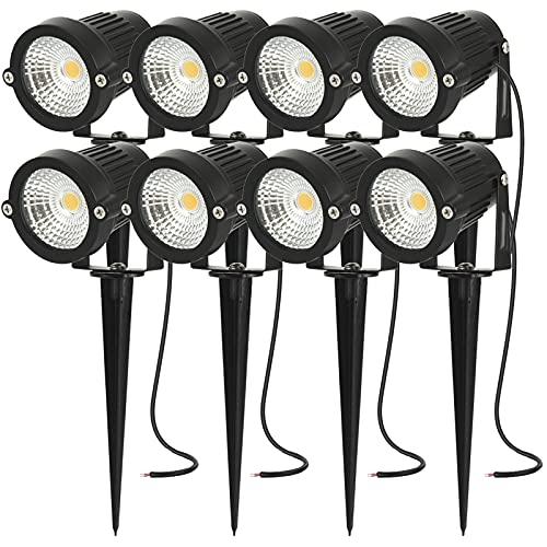 Lumière de paysage 5W 12V 24V LED lumière de jardin basse tension IP66 étanche éclairage de projecteur de paysage extérieur