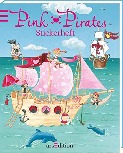Stickerheft - Pink Pirates
