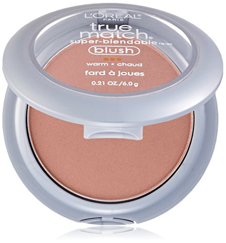 L'Oreal Paris True Match Super-Blendable Blush, Precious Peach, 0.21 Ounce by L'Oreal Paris