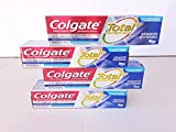 Colgate Total SF Advanced Whitening Toothpaste 6.4 oz, 5-pack
