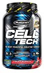 Creatine Monohydrate Powder + Carb Mass Gainer | MuscleTech Cell-Tech | Post Workout Recovery Drink | Muscle Recovery + Muscle Builder | Amino Acids, BCAA Powder | Fruit Punch, 3 lbs (28 Servings)