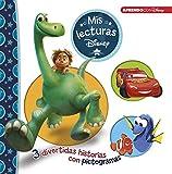 El viaje de Arlo | Cars | Buscando a Dory (Mis lecturas Disney): 3 divertidas historias con pictogramas