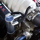 UPR Products Billet Oil Catch Can fits 2005-2010 Jeep Cherokee SRT8 6.1L HEMISatin