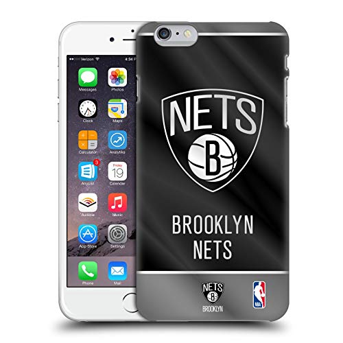 Head Case Designs Ufficiale NBA Banner 2019/20 Brooklyn Nets Cover Dura per Parte Posteriore Compatibile con Apple iPhone 6 Plus/iPhone 6s Plus