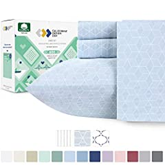 HIGHEST QUALITY BEST COTTON SHEETS IMPROVED VERSION: If you love the feel of luxurious hotel sheets and crisp pillowcases, you'll adore our 600 thread count sheets. We use fine yarns made with extra long staple cotton fiber and a gorgeous sateen weav...