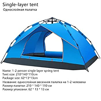 2-4 Man Person Pop Up Camping Tent Family Festival Outdoor Hiking Beach Shelter