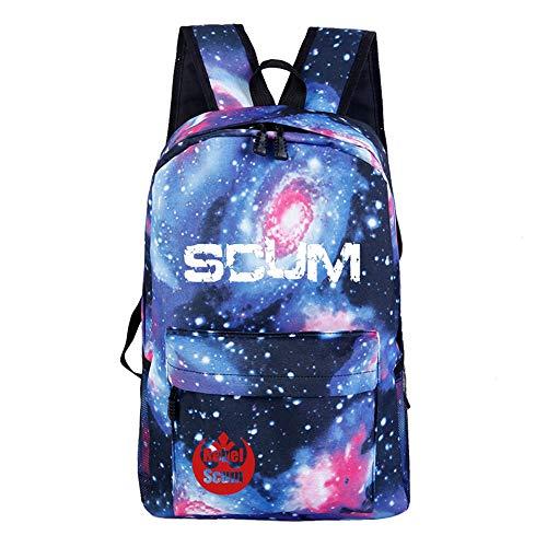 Unisex SCUM Rucksack, leicht, einfaches Design, für Jungen und Mädchen A14 32 X 16 X 46cm