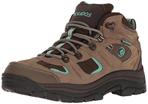 Nevados womens Klondike Mid Wp-w hiking boots, Shiitake Brown/Dark...