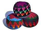 Juggling balls x 3 fair trade, assorted colours by Purity