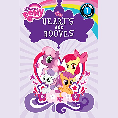 My Little Pony: Hearts and Hooves audiobook cover art