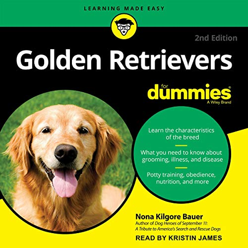 Golden Retrievers for Dummies, 2nd Edition cover art