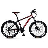 Lisi Vélo de Montagne Adulte 26 Pouces 30 Vitesses Une Roue Tout-Terrain à Vitesse Variable...
