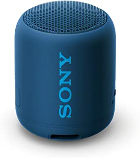 Sony SRS-XB12 Enceinte Bluetooth Portable Extra Bass Waterproof - Bleu