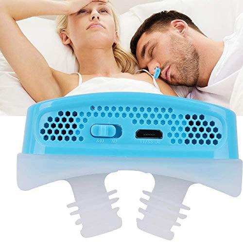 Canyita Dispositivo antirronquidos, USB Recargable 2 en 1 Diseño humanizado Anti ronquidos Mini Dispositivo antirronquidos para Hombres y Mujeres para Reducir los ronquidos(#3)