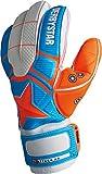 Derbystar Attack AR Advance–Guantes de Portero, Color Azul/Naranja/Blanco, 11, 2663110000