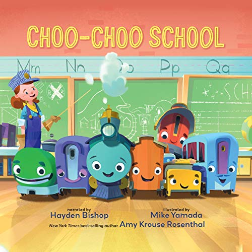 Page de couverture de Choo Choo School