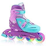 Locavun Verstellbare Inline-Skates für Mädchen, Jungen, Kinder...