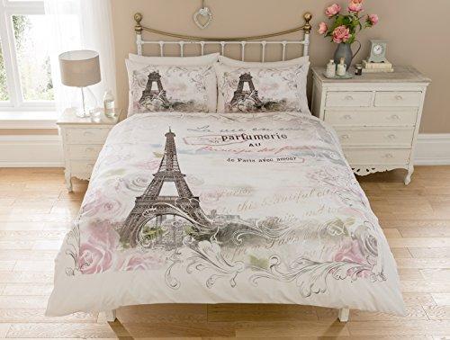 Sleepdown Paris Panel Juego de Cama Individual, algodón, Suelto