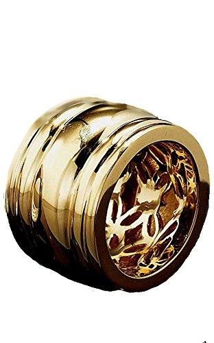 Hartvergoldeter-Silberring von APART Gr. 19