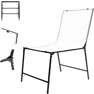 Professional Photo Studio Shooting Table, (100X200cm) Adjustable Large Still Life Studio, PVC Non-Reflective Double Panel, Suitable for Shooting Cosmetics and Other Products