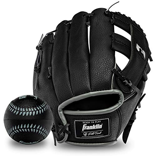 Franklin Sports RTP Teeball Performance Gloves & Ball Combo