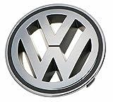 Volkswagen Front Grille Emblem CHROME GENUINE OEM Passat Jetta Tiguan GTI