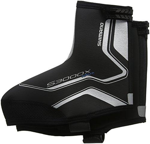 Shimano Überschuhe Trail Npu+/S3000X, Schwarz, S