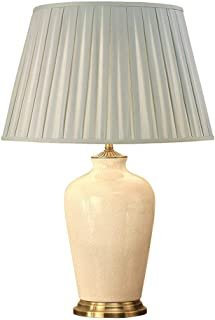 Ryhall Ivoire Et Laiton Grande Lampe De Table - Base Seulement - Intérieurs 1900 R02LC