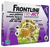 FrontlineTriact Soins/Nettoie Parasites du Pelage Antiparasitaire pour Grand Chien 20 à 40 kg 5 Unités