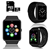 inDigi 2019 Sleek GT8 2-in-1 Fitness SmartWatch & Phone + 32gb microSD Included